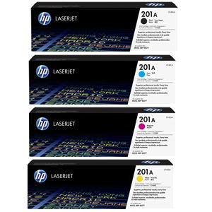 Hp Color Laserjet 201 Toner